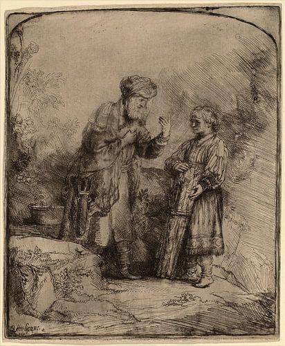 Abraham und Isaak von Rembrandt van Rijn