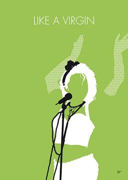 No116 MY MADONA Minimal Music poster van Chungkong Art