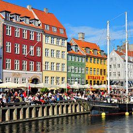 Nyhavn, Copenhague, Danemark sur Rogier Vermeulen