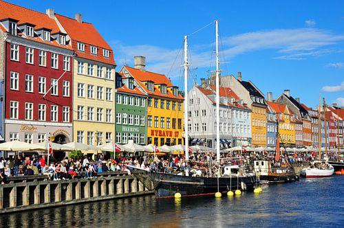 Nyhavn Kopenhagen van Rogier Vermeulen