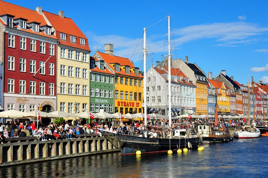 Nyhavn Kopenhagen von Rogier Vermeulen