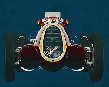 Alfa Romeo 8c 1935 von Jan Keteleer