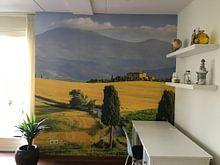 Kundenfoto: Val d'Orcia, Toskana, Italien von Henk Meijer Photography, auf fototapete