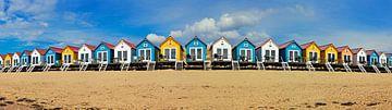 Panorama Strandhäuser Vlissingen von Anton de Zeeuw