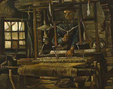 Weber am Webstuhl, Vincent van Gogh