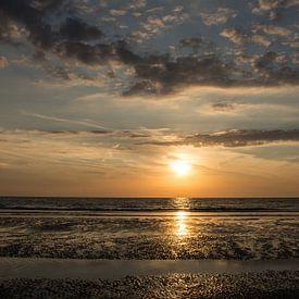 Zonsondergang von Yvonne van der Meij