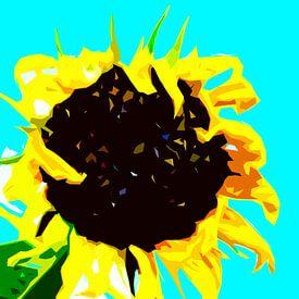 Zonnebloem van Maerten Prins