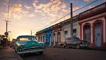Oldtimer in Cienfuegos - Kuba