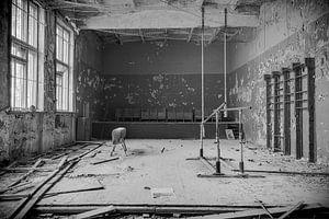Sporthal: De Touwen en het Klimrek