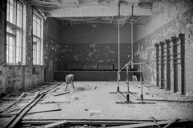 Sporthalle: Die Türme und das Klettern von Perry Wiertz