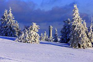 Le Feldberg en hiver sur Patrick Lohmüller