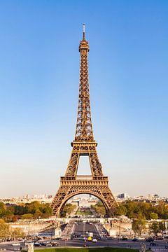La Tour Eiffel à Paris sur Werner Dieterich