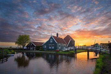 Hollandsche ochtend van Pieter Struiksma