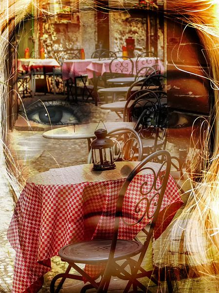 Italian life in mind van Gabi Hampe