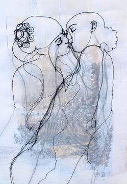 'Almost Kiss' van Kim Rijntjes