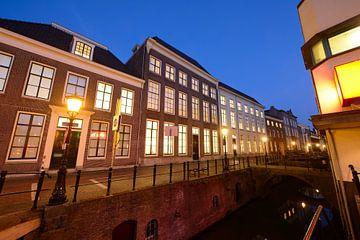 Drift met universiteitsbibliotheek in Utrecht sur Donker Utrecht