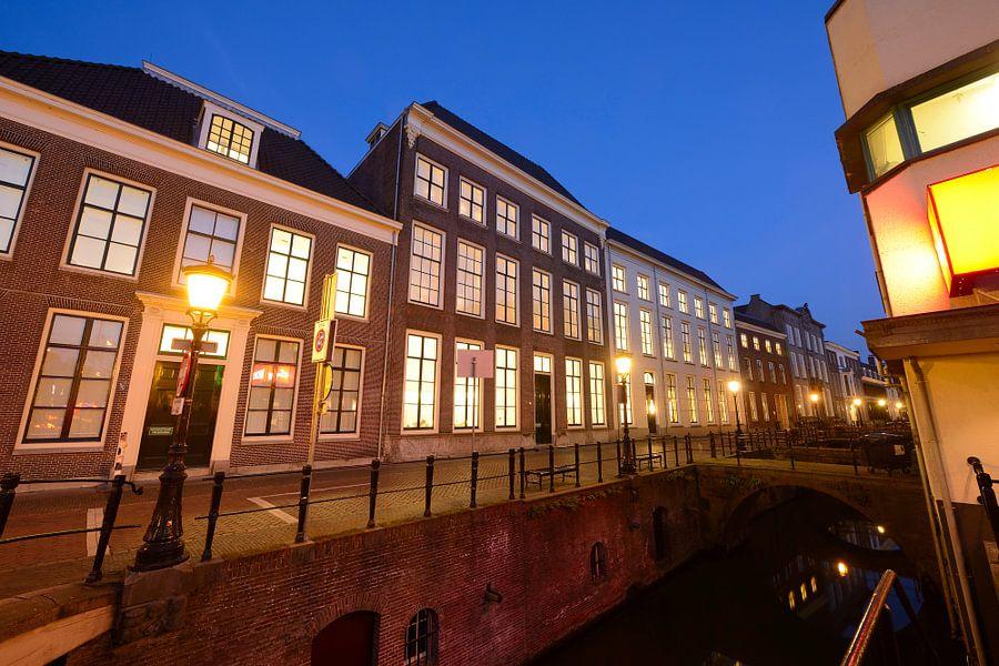 Drift met universiteitsbibliotheek in Utrecht van Donker Utrecht