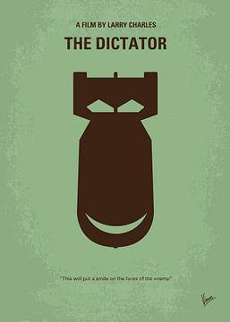 No212 My The Dictator minimal movie poster van Chungkong Art