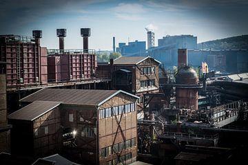 Sfeervol, romantisch industrieel landschap