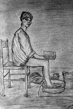 voetjes baden-feet baths-Füße-Bäder-bains de pieds-bagni di piedi von aldino marsella