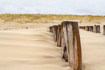 Nordseeküste in Zeeland von Achim Prill