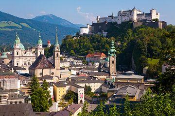 Salzburg in Oostenrijk van Werner Dieterich