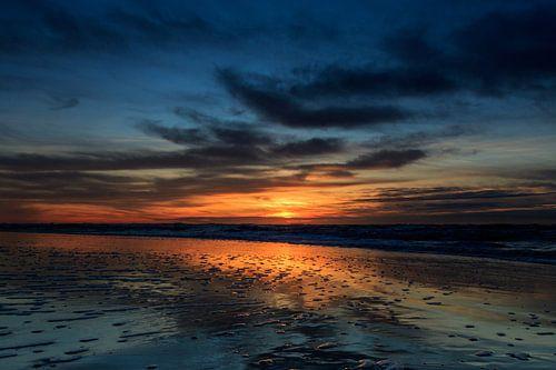 Zonsondergang Castricum aan Zee