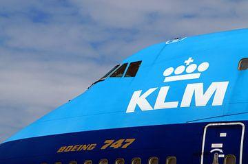 KLM Boeing 747 cockpit. van Jarretera Photos