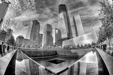 9/11 Memorial in New York City von Esther Seijmonsbergen