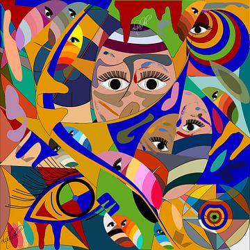 ogen en gezicht van EL QOCH