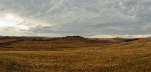 Le Crete - Toscane - Italie - panorama