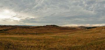 Le Crete - Toscane - Italie - panorama van Jeroen(JAC) de Jong