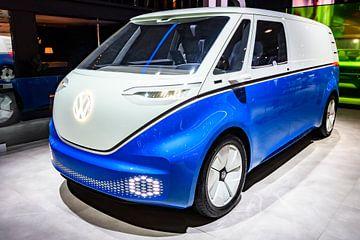 Volkswagen ID. Buzz, of VW Elektrische Microbus elektrische concept auto van Sjoerd van der Wal