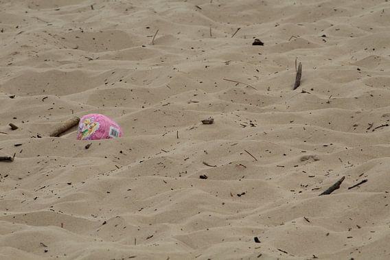 Bal in het zand