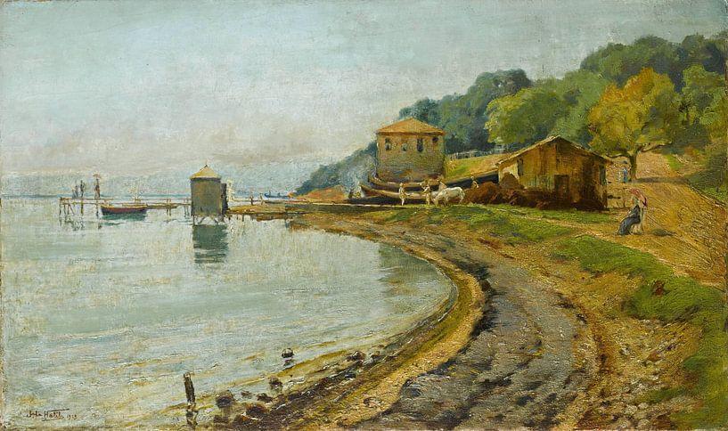 Halil Pascha~Baden für das Bosnische Meer von finemasterpiece