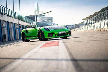 Porsche 911 GT3 RS op het circuit van Assen van Martijn Bravenboer