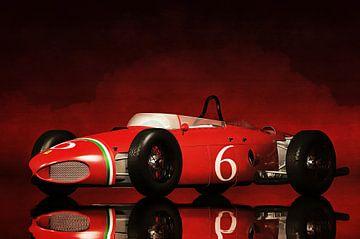 Klassieke auto – Oldtimer Ferrari 156