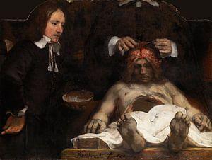 Rembrandt. Anatomische les van Dr. Jan Deijman