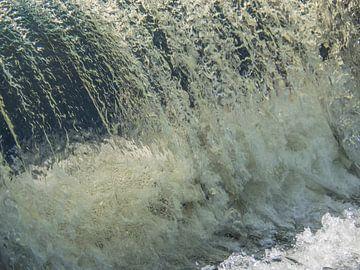 Chute d'eau lente