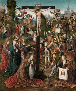 Die Kreuzigung, Jacob Cornelisz. van Oostsanen, um 1507 - um 1510