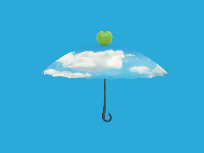 De paraplu I van Catherine Fortin
