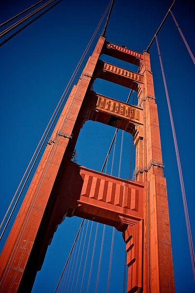 San Francisco - Golden Gate Bridge von Blijvanreizen.nl Webshop