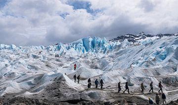 Wandeling op de Perito Moreno van Ton van den Boogaard