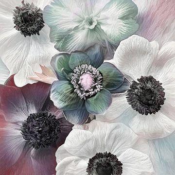 Nieuwe bloem #9 van Lizzy Pe
