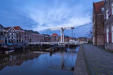 Schälbrücke mit schönen Wolken von Rick Kloekke