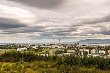 Skyline van Reykjavik