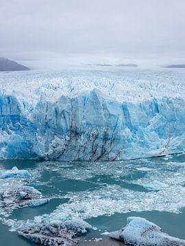 Gletsjer Pinto Moreno in Patagonië, Argentinië van