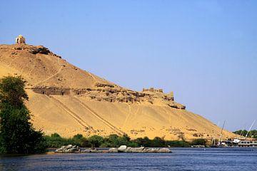 Aswan graven berg van Jolanta Mayerberg