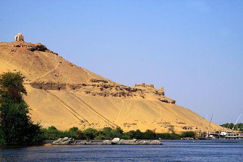 Aswan graven berg
