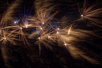 Sky Full Of Fireworks van Christian Traets